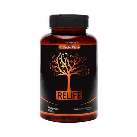 Nutrição Capilar Relife 400 mg - 90 cápsulas