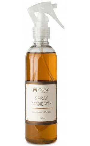 Spray Ambiente - Laranja Com Canela 240ml