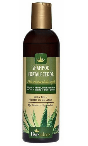 Shampoo Fortalecedor Aloe Vera 240ml