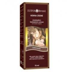 Coloração Natural Henna em Creme Chocolate 70ml