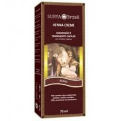 Coloração Natural Henna Creme Acajú 70g