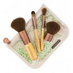 Kit Pinceis para Maquiagem Mineral Ecottols 1213