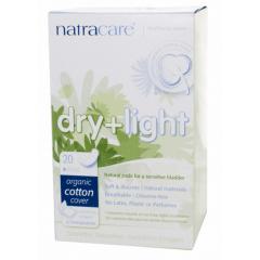 Absorvente Orgânico Natracare Dry & Light para Incontinência com 20 un