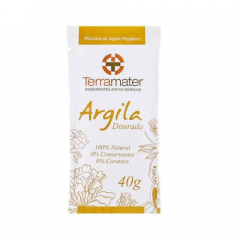 Argila Dourada 100% Natural - Remineralizante 40g
