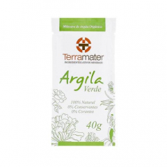 Argila Verde 100% Natural - Antioleosidade 40g