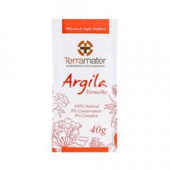 Argila Vermelha 100% Natural - Anti-Idade 40g
