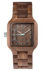 Relógio de Madeira - MIRA NUT