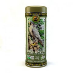 Chá Misto Orgânico Earl Green - Chá verde, Mate e Bergamota - Lata 45g - Tribal Brasil