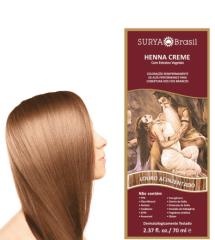 Coloração Natural Henna Creme Louro Acinzentado 70ml
