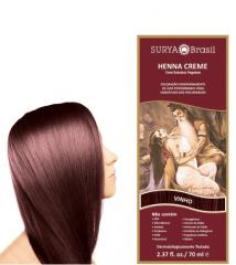 Coloração Natural Henna Creme Vinho 70ml