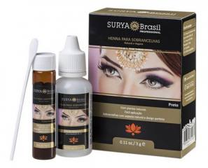 Henna Sobrancelha Preto Natural e Vegana 3g