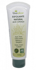 Esfoliante Natural Vegano Aloe Cupuacu 120ml Live Aloe
