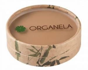 Pó Compacto Escuro Natural, Organico e Vegan 10g