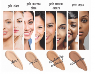 Base Líquida 1 – Bege Claro Vymana Make Up 30g