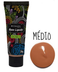 Base Líquida 2 – Bege Médio Vymana Make Up 30g