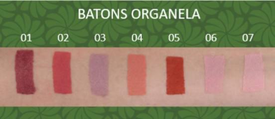 Batom 04 - Natural, Orgânico e Vegan - Organela
