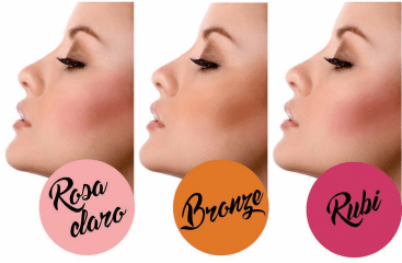 Blush Bronze - 3 Bronze Vymana Make Up 10g