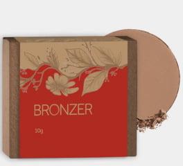 Bronzer Para Contorno Facial Orgânico Natural Vegano