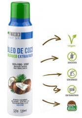 Óleo de Coco Orgânico Extra Virgem 100% Puro Spray 130ml