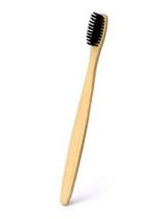 Escova Dental em Bambu e Cerdas de Carvão Vegetal