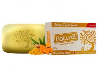 Sabonete Natural Suavetex com Extrato de Cúrcuma 80g