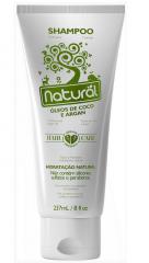 Shampoo Natural com Óleos de Coco e Argan 237mL Suavetex