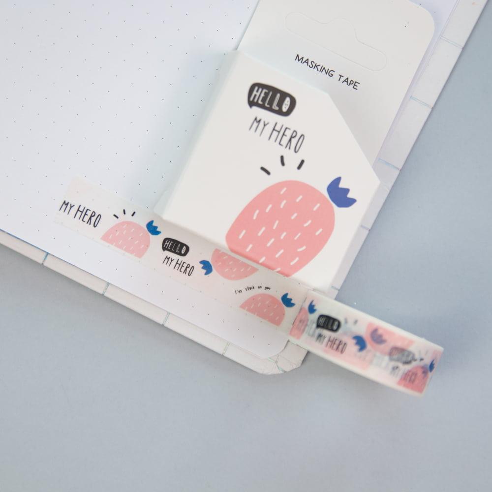 Washi Tape Cacto - Hello!