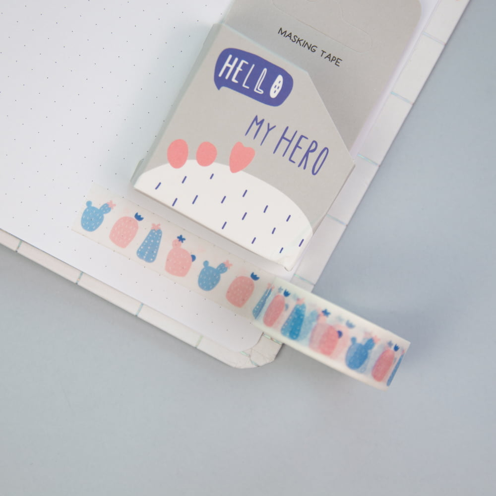 Washi Tape Cacto - My hero!