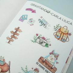 Adesivo Travel - Carla Lilica