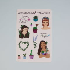 Adesivo Plants - Verônica Scholz