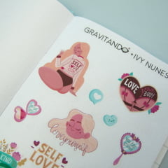 Adesivo Self Love - Ivy Nunes