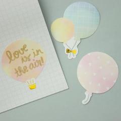 Kit de adesivos Balões