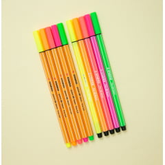 Kit Stabilo Neon - point 88 & pen 68!