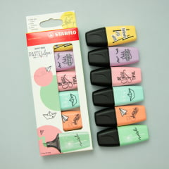 Kit completo Stabilo Boss Pastel Mini