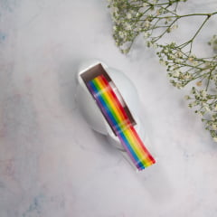 Dispenser de nuvem & Washi tape arco íris