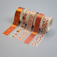 Kit Washi tapes Rose Gold