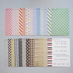 Masking Sticker Set - Fabric
