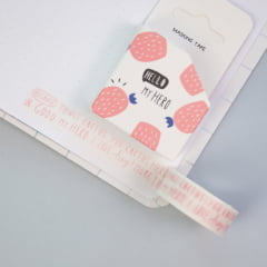 Washi Tape Cacto - Words!