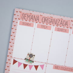 Planner Semanal - All you need is love