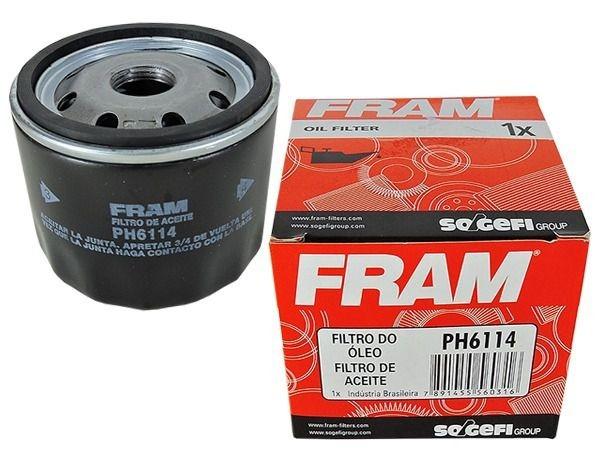 Filtro De Óleo Fram Ph6114