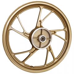 Rodas Liga Leve Scud Start 150 KS 2004 até 2013 5P MOD160EX Sem Câmara de Ar Dourada Freio a Disco