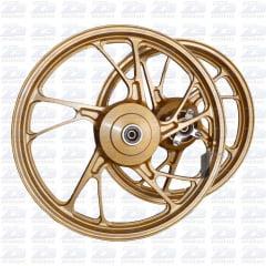 Roda Scud Fan 125 09 13 Disco Frente Mod 160 Pé Galinha Dr