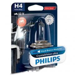 Lâmpada Philips Crystal Vision H4 Extra Duty