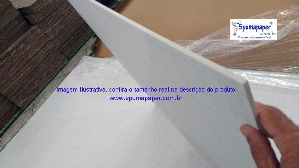 Placa Auto-adesiva Branca/ Branca/ Branca - 5BBBAD3V - 45cm x 30cm x 5mm (Varejo)