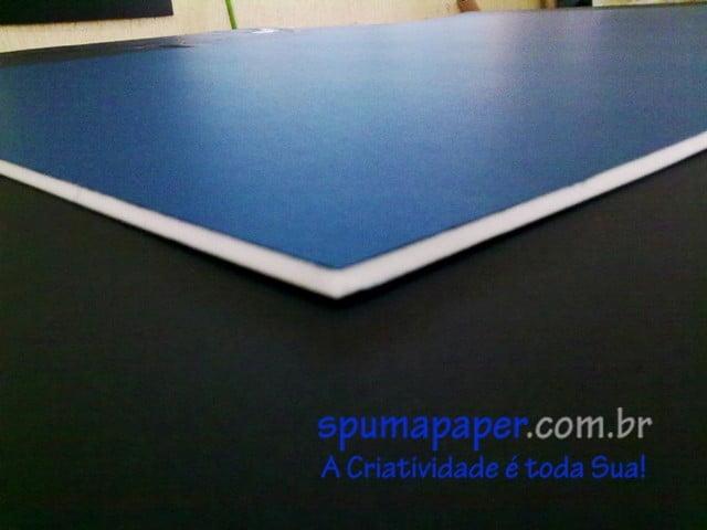 Placa Azul Escuro/ Branco/ Azul Escuro - 4AZEBA1V - 94cm x 64cm x 4mm (Varejo)