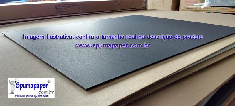 Placa Preta/ Preta/ Preta - 5PPP4A - 30cm x 22,5cm x 5mm (Valor Unitário)