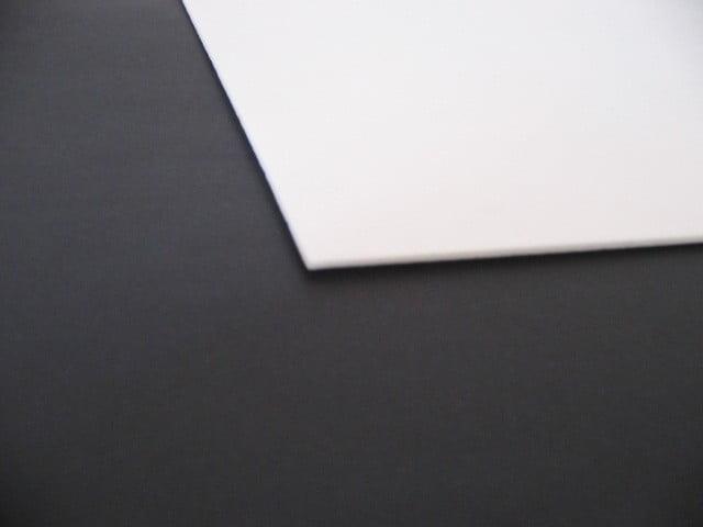 Placa XPS Depron Branca Crua - 2BC1V-XPS - 68cm x 100cm x 2mm (Varejo)