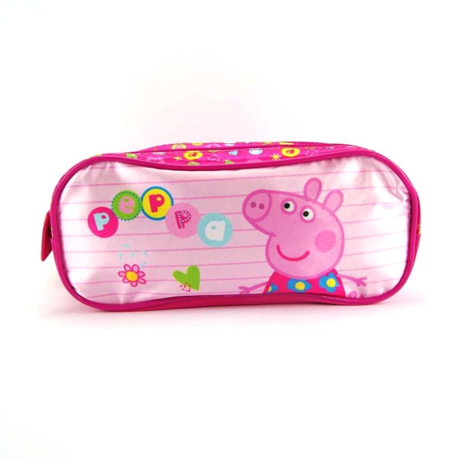 Estojo Escolar Peppa Pig Duplo Colorful ref 5245 Xeryus