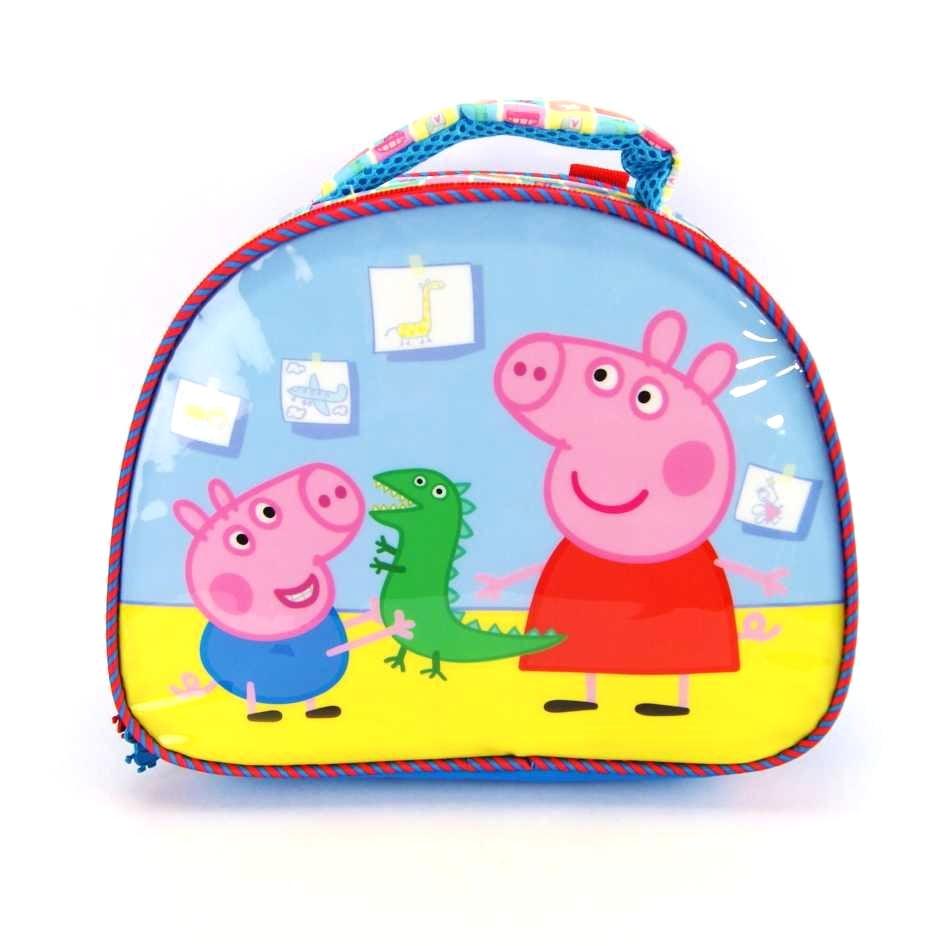 Lancheira Peppa Pig Hora da Brincadeira ref 5554 Xeryus