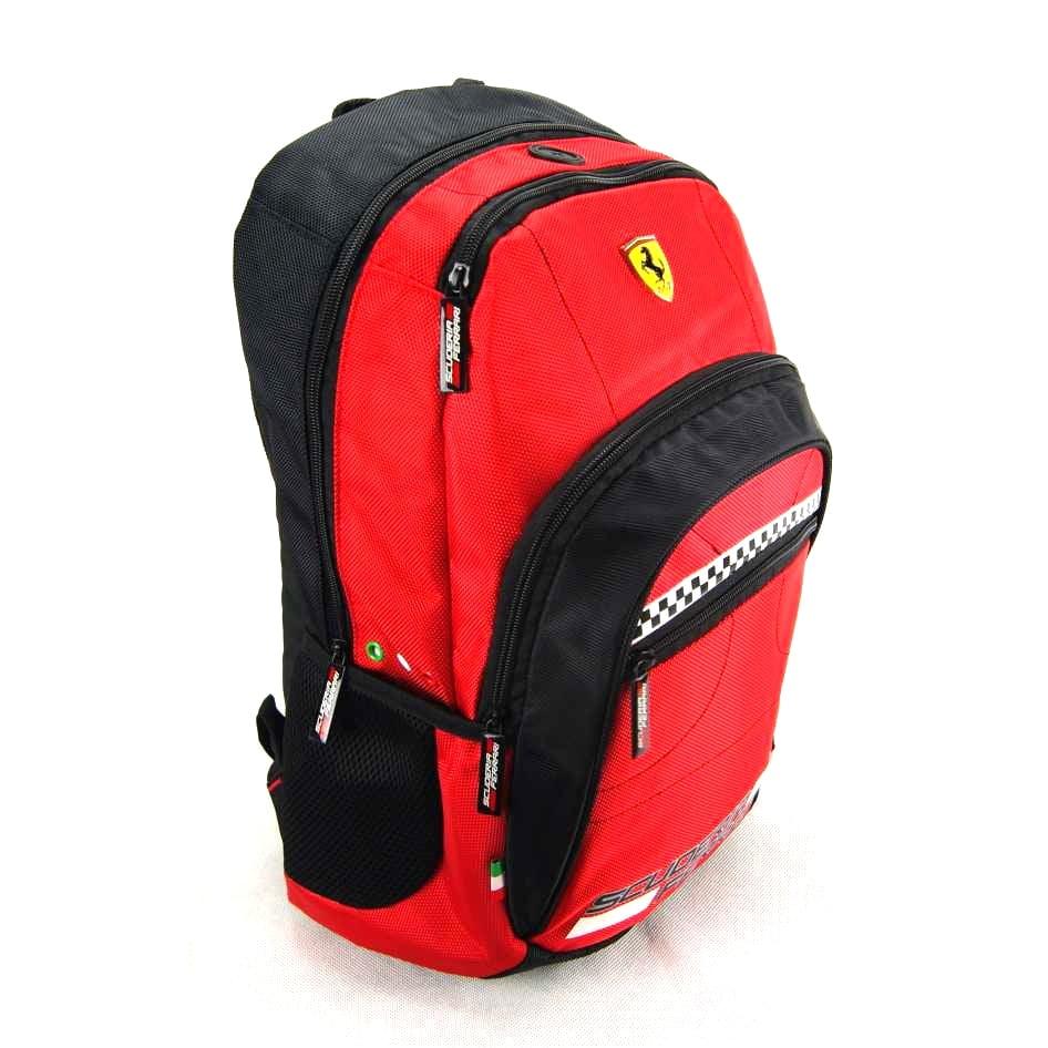 402878141 Mochila Ferrari Cavallino Vermelha ref 425609-2 Foroni
